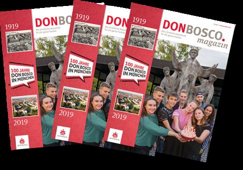 Sonderausgabe zum 100-jährigen Jubiläum der Salesianer Don Boscos in München