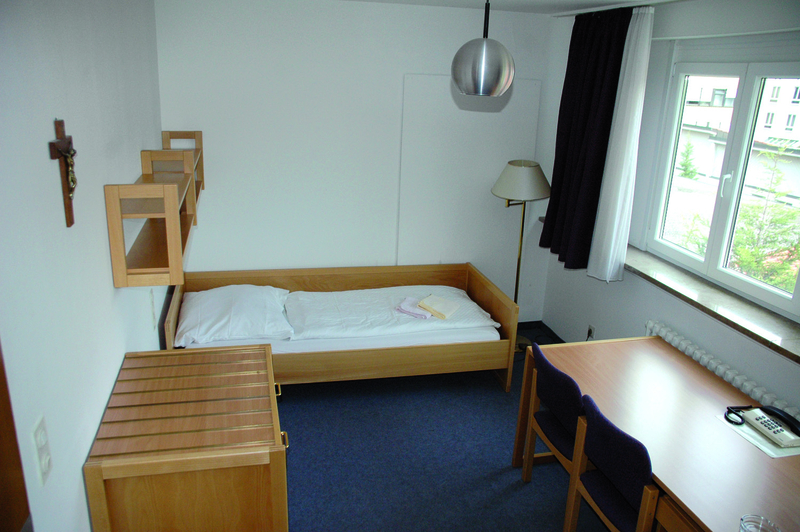 Guest room in the Salesianum